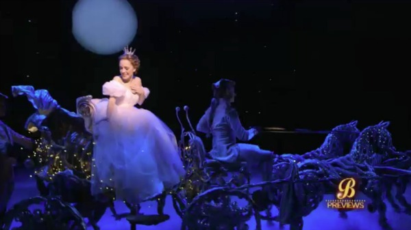 Watch A Sneak Peek of Cinderella on Broadway