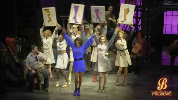 Watch A Sneak Peek of Kinky Boots on Broadway