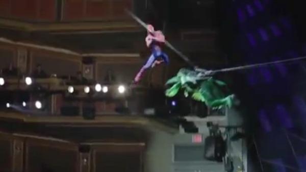 Watch Spider-Man: Turn Off The Dark on Broadway
