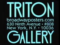 Triton Gallery and BroadwayPosters.com