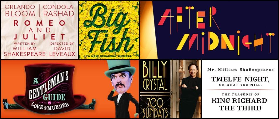 Fall 2013 Broadway Season Preview