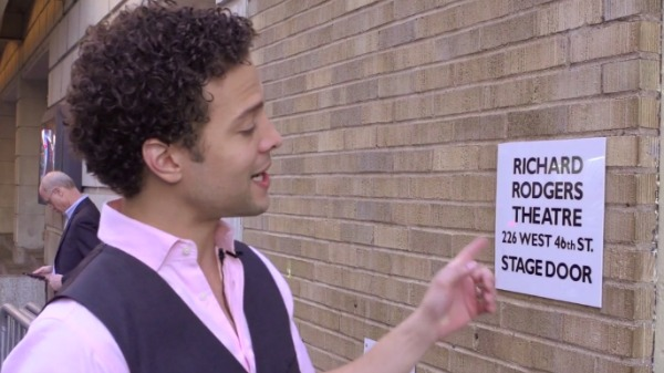 Watch Justin Guarini Takes You Backstage at Romeo and Juliet