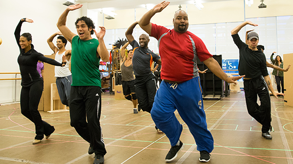 Watch: Aladdin in Rehearsal