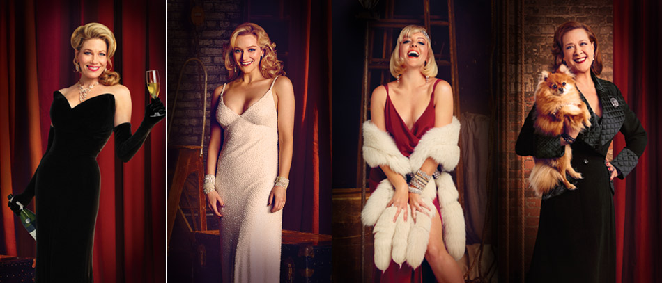 The Leading Ladies of Bullets Over Broadway
