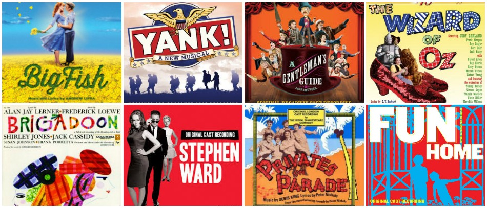 New Musical Theater Recordings for Spring