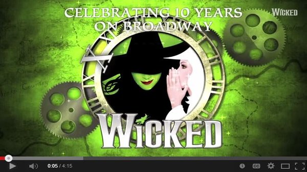 Watch Wicked's 10th Anniversary Memories
