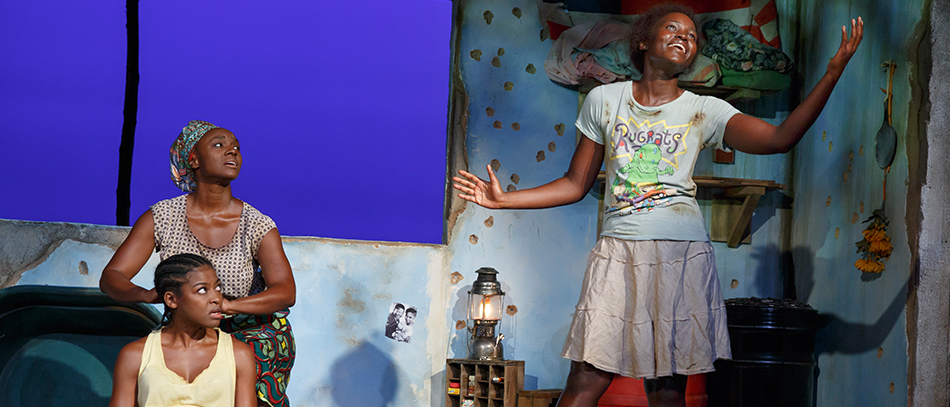 Oscar Winner Lupita Nyong'o Makes a Moving Broadway Debut in Eclipsed
