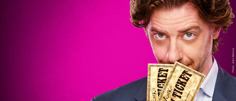 Christian Borle Enters Willy Wonka's Candy-Coated World