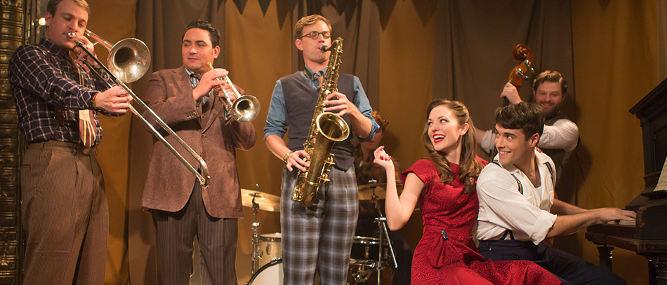 Laura Osnes and Corey Cott Find Love in the New American Musical Bandstand
